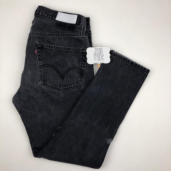 Re/Done Denim - RE/DONE Levi's Vintage High-waist Slim Jeans